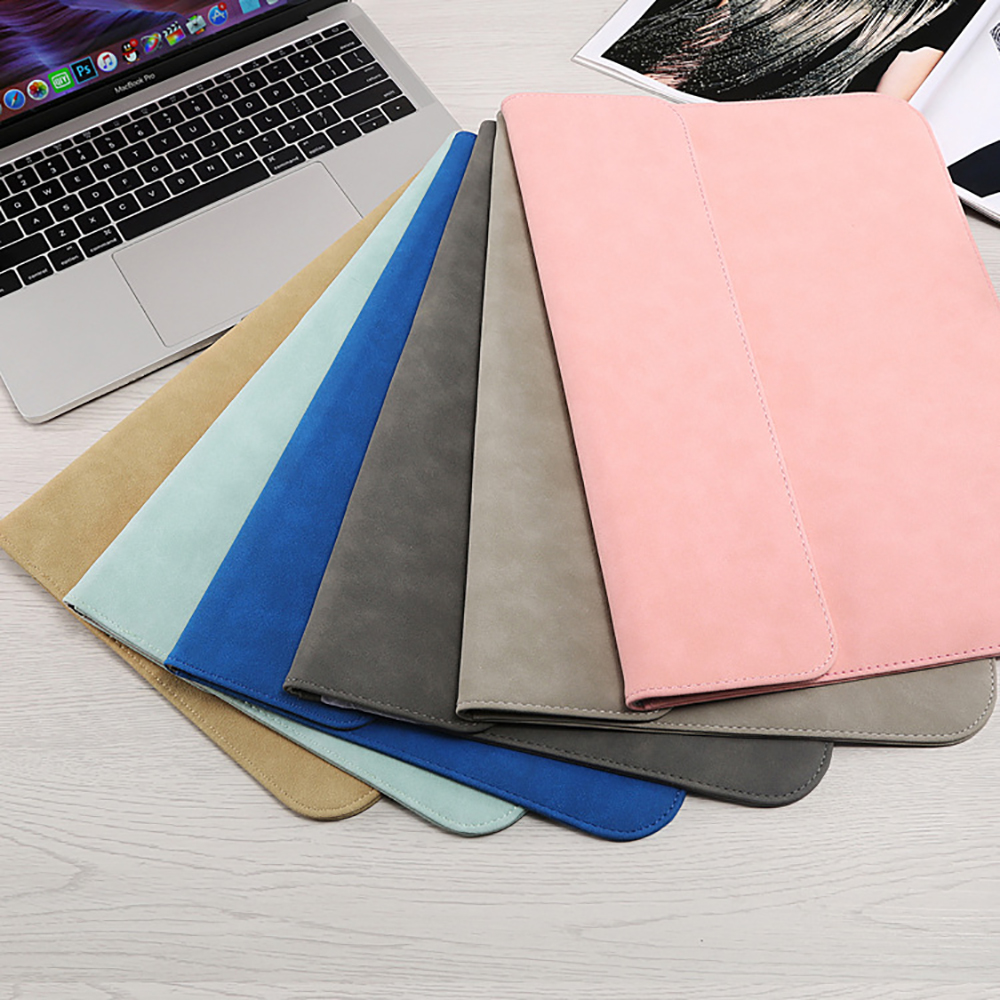 Image 5 - Matte Soft Laptop Sleeve Bags Case For Apple Macbook Air 13 11 Retina 15 13 12 inch,cover for 2019 new Pro 16 With power packLaptop Bags & Cases   -
