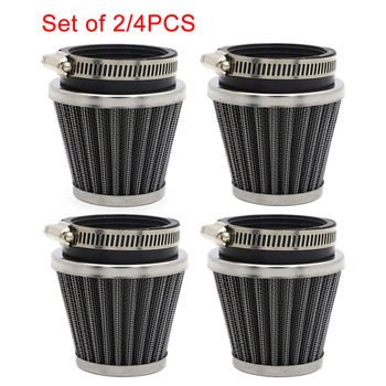 54mm Air Filter Pod Motor Air Cleaner Pods For Honda CB750 CB900 CB CM 400 450 CX GL 500 650 Suzuki GS550 Kawasaki KZ650 GPZ750 image