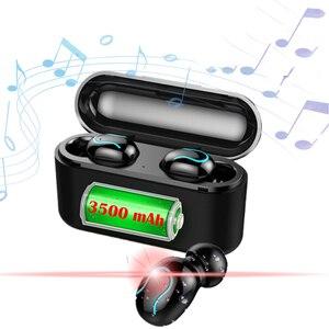 Image 1 - אלחוטי Bluetooth אוזניות q32s מעודכן גרסת אוזניות אלחוטי אוזניות TWS ספורט Bluetooth 5.0 סטריאו אוזניות עם מתנה