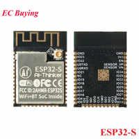 ESP32 ESP-32 ESP32-S ESP32S Bluetooth and Wireless WIFI Dual Core CPU Module Low Power MCU Dual Antenna Home IOT for Arduino