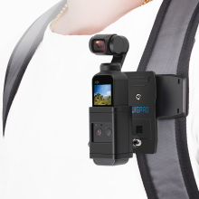 Bag Clamp Clip Pocket with Gimbal Camera Fixed Adapter Mount for DJI Osmo Backpack Holder Accessories