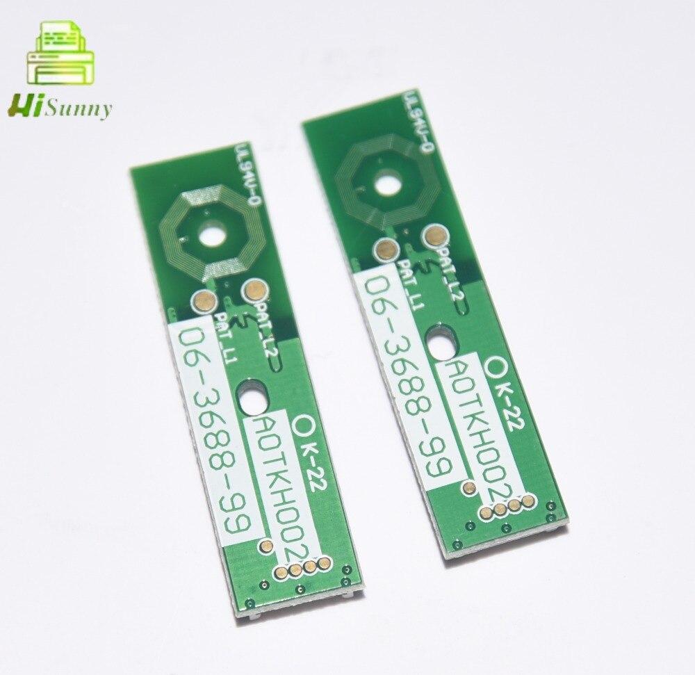 4pcs Bizhub C220 C280 C360 C224 C224e C284e C284 C364 C364e C454 C454e C654 C554 C452 개발자 유닛 칩