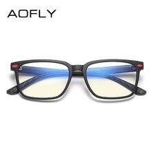 AOFLY бренд дизайн анти синий светильник очки дети оптические детские очки TR90 Гибкая оправа диоптрий очки резиновые UV400