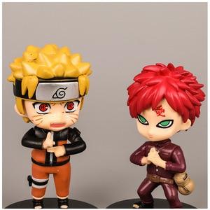 Image 5 - Naruto Ninja Hände Puppe Auto Zubehör für Mädchen Ornamente Dashboard Dekoration Innen Anhänger Hängen Sasuke Kakashi