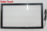 32 real 10 points infrared touch screen overlay kit / frame without glass for interactive whiteboard,multi touch monitor
