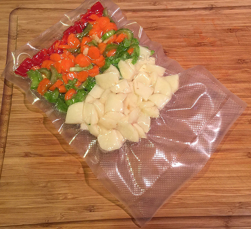 Kitchen Food Vacuum Bag Storage Bags For Vacuum Sealer bag 12/15/20/25/28cm*500cm