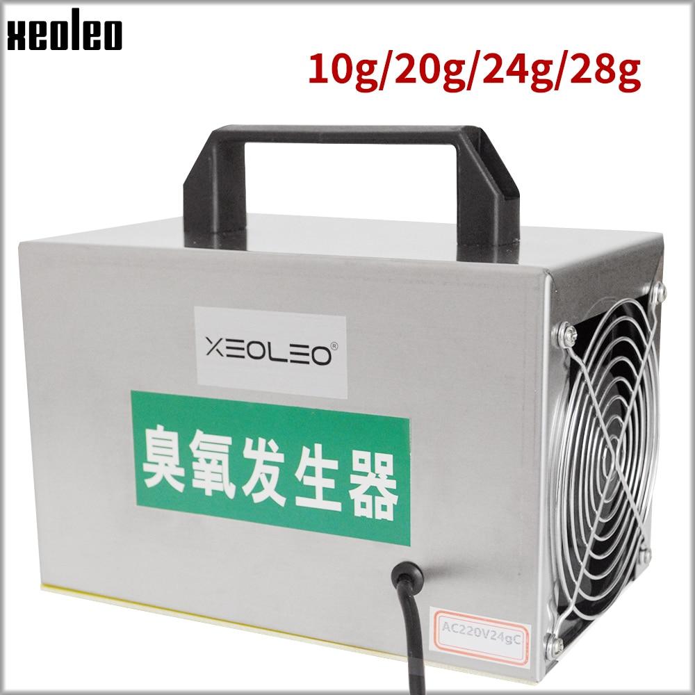 XEOLEO 10/20g/24g/28g Ozone Generator Ozone Machine Stainless Steel Air Purifier Disinfection Sterilization Formaldehyde Machine