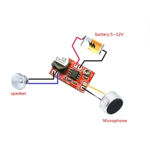 Microphone Amplifier-Board Mini 5V-12V Condenser New DC