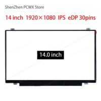 14.0 Laptop LCD Screen for Lenovo thinkpad T440p T440s IPS FHD 2K 1920*1080 eDP 30pins for LG Brand LP140WF1 SPK1 FRU 00HM825