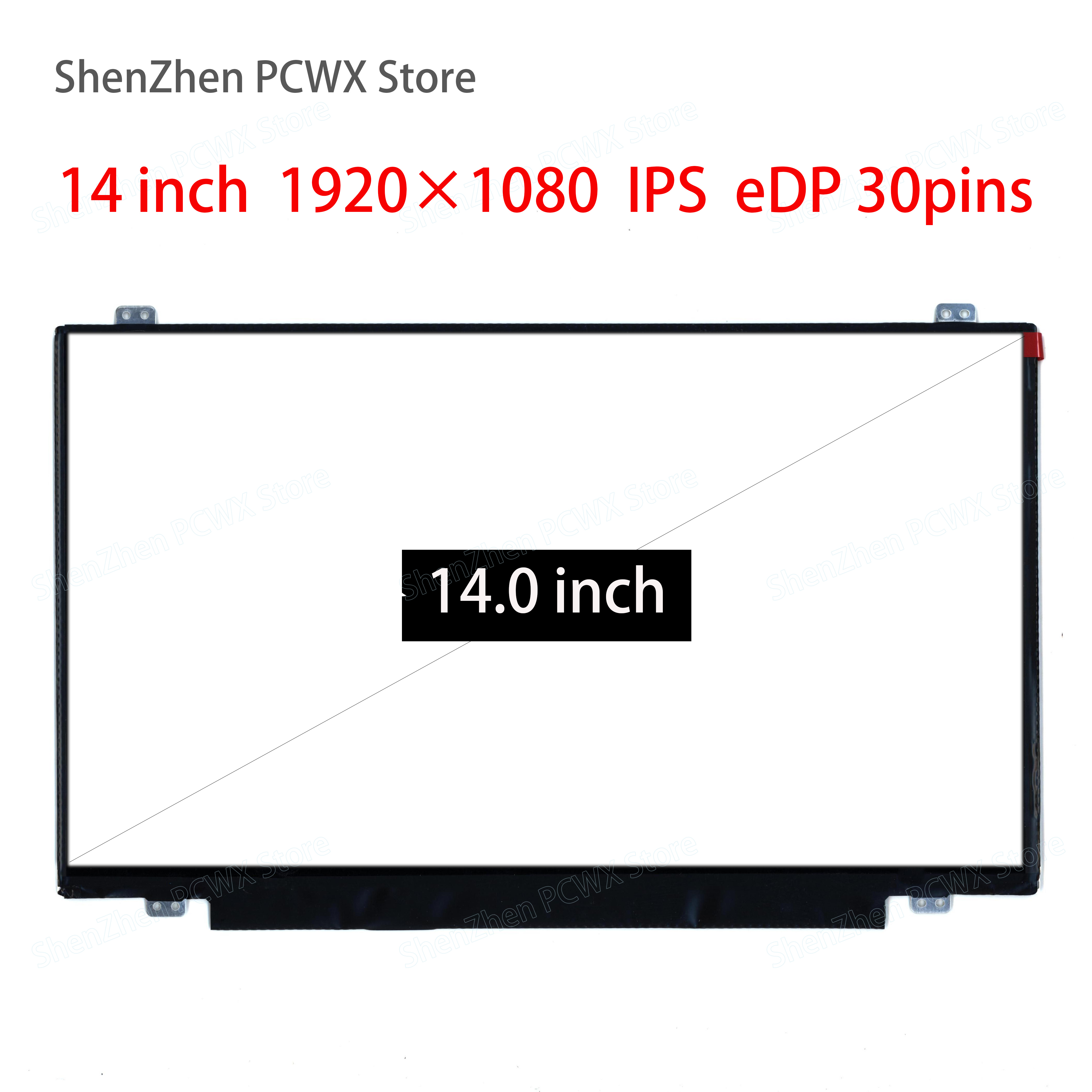 14.0 Inch Laptop LCD Screen For Lenovo Thinkpad T440p IPS Resolution 1920 * 1080 EDP 30pins LP140WF3-SPD1 Notebook Screen