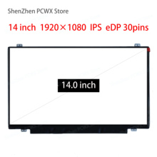 цена на 14.0inch laptop LCD screen for Lenovo thinkpad t440p IPS resolution 1920 * 1080 eDP 30pins LP140WF3-SPD1 notebook screen