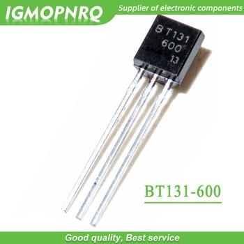 цена на 50pcs BT131-600 BT131 TO-92 Triacs 600V 1A new original