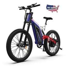 Bici elettrica AOSTIRMOTOR S17 1500W Mountain Bike 48V 14.5Ah bicicletta Al lega Fat Tire Ebike Beach Cruiser City bike