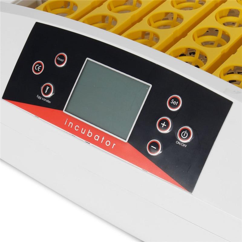 56 яиц цифровой Интеллектуальный автоматический инкубатор 80 Вт контроль температуры цифровой автоматический инкубатор Птицы полностью авт... - 5