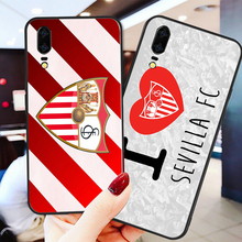 Phone Case Barega For Huawei Mate10 Lite 20X Black Soft TPU DIY Sevilla FC Nova5 Mate 8 9 P30 Pro G10 5i