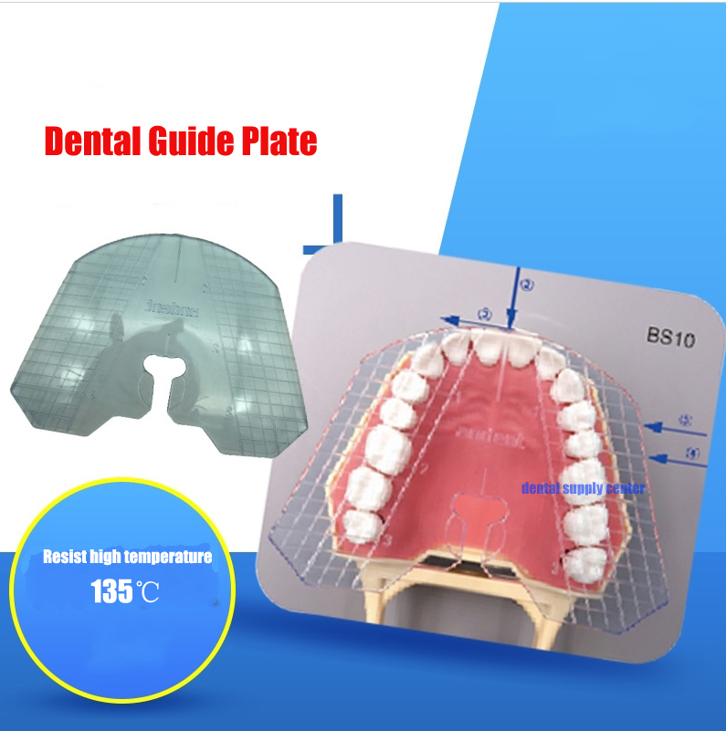 1pcs Dental Lab Dental Guide Plate Teeth Arrangement On Denture Work