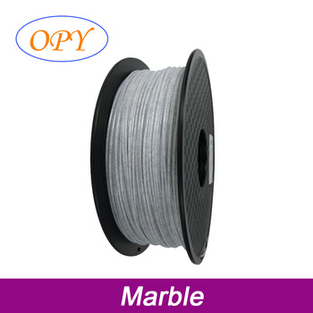 Pla Filament Marble 1.75 1.75Mm 1Kg 3D Thread Material Wire 10M 100G Sample image