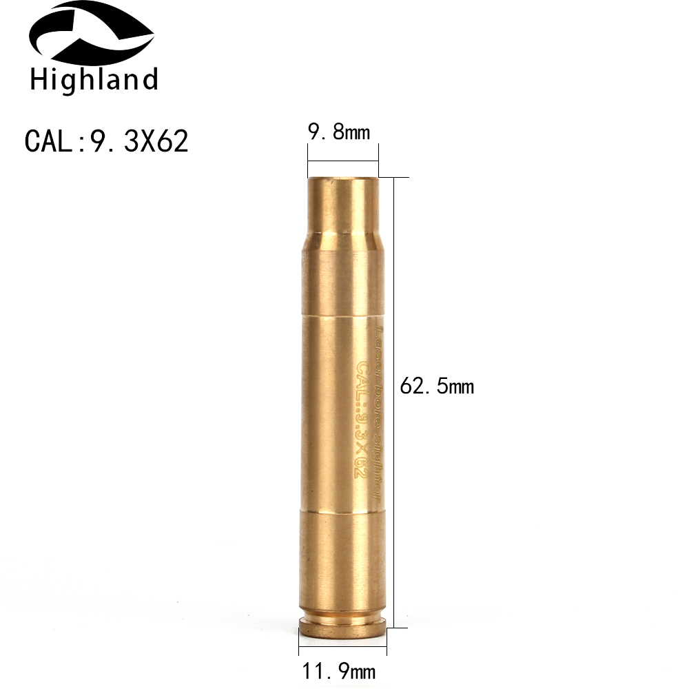 Boresighter Sighting Red Laser Bore Sighter Sight Boresighter cartridge For Hunting Rifle CAL 9.3X62
