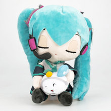 2019 newest 25cm Anime Hatsune Miku Plush Toy snow Doll Soft Stuffed Toys Baby Great Gift