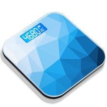 Градиентные цветные ЖК дисплей шкала веса для ванной комнаты