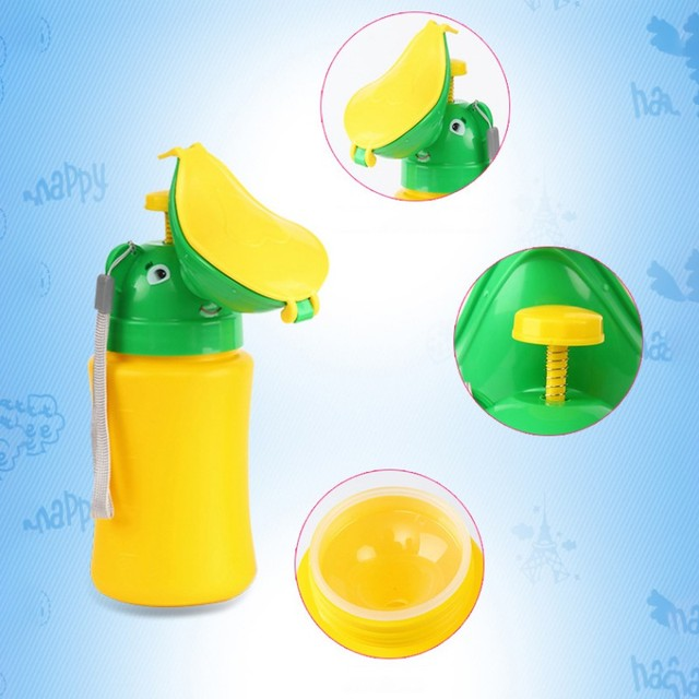 Baby Girl Travel Urinal Pot PP Smooth Odorless Useful Reusable Portable Toilet Training Travel Urinal Potty 3