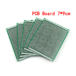5pcs/lot 7x9cm Double Side Prototype PCB Board 7*9cm Universal Printed Circuit Board For Arduino Experimental PCB Copper Plate