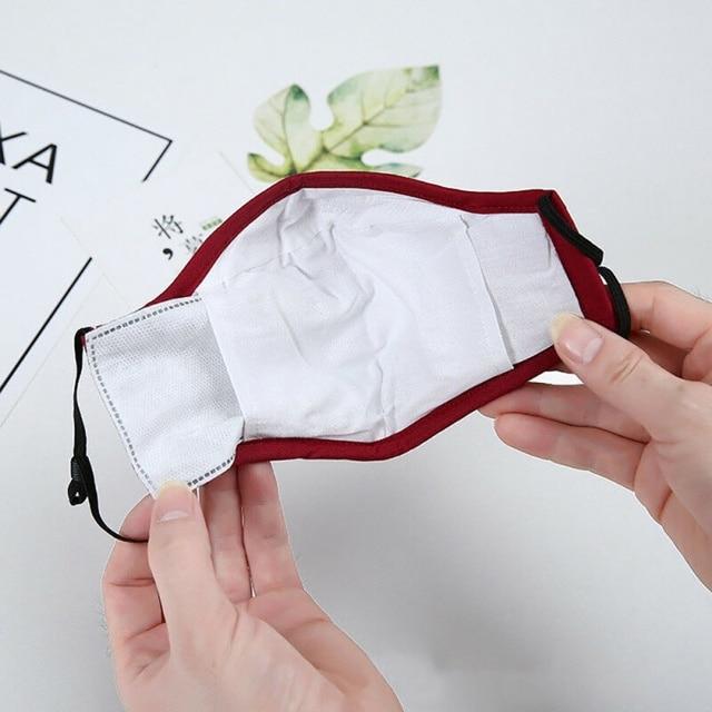 Safety Dust Mask+2 Filters Easy Breathe Reusable Washable Face Mask Anti Virus Gardening Travel PM2.5 Mask 3