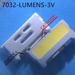 Image 3 - Bộ 1000 LUMENS LED Đèn Nền Edge LED Series 0.7W 3V 7032 Thoáng Mát trắng Cho SAMSUNG LED MÀN HÌNH LCD có Đèn Nền TIVI Applicatio A150GKCBBUP5A