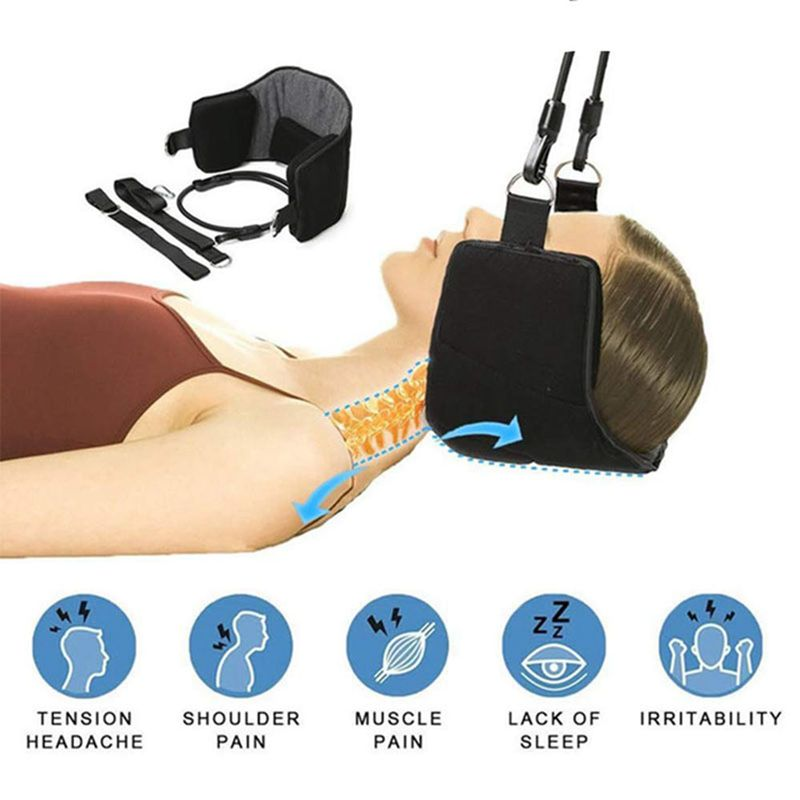 Portable Outdoor Neck Hanging Tool Neck Pain Relief Relaxing Hammock Home Napping Sleeping Pillow Cushion in Outdoor Tools from Sports Entertainment