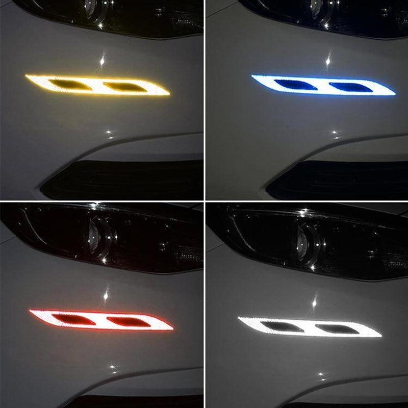 Image 5 - 1 piece Car reflective sticker door handle door bowl Protection for Ferrari BMW Audi Toyota  Honda Mazda Hyundai Mercedes Benz-in Car Stickers from Automobiles & Motorcycles