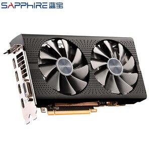Image 4 - بطاقة فيديو من الياقوت AMD Radeon RX 580 4GB 256bit بطاقات الرسومات للالعاب وحدة معالجة الرسومات RX580 4GB GDDR5 بطاقات الرسومات الألعاب المستخدمة RX580