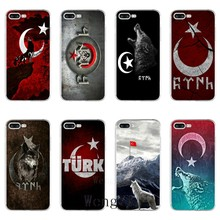 turkey turkish flag wolf cover case For Huawei Honor 20 10i 9x Lite 8s 8C 8X 7C 7X 7A 6C pro 6X 6A 5A 5C 5X 4c V10(China)