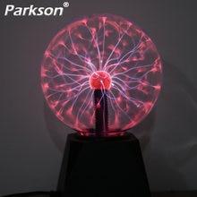 Новинка магический плазменный шар светодиодный ночной Светильник