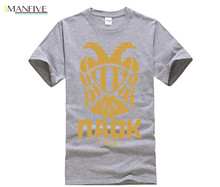 все цены на PAOK Saloniki Tee tshirt Toumba Dimitrios Pelkas T Shirts Abbigliamento Stefanos Athanasiadis t shirt FC PAOK Saloniki club онлайн