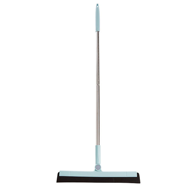 Rotating Cleaning Broom Household Glass Wiper Bathroom Floor Scraping Floor Cleaning Broom Blue|Brooms & Dustpans| |  - title=