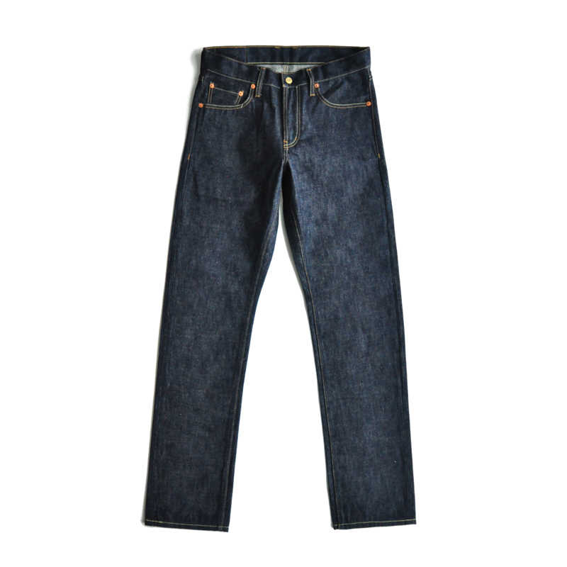 SauceZhan 316XX-RAW mężczyźni dżinsy proste surowe dżinsy Selvedge dżinsy Unsanforized dżinsy męskie męskie dżinsy marki