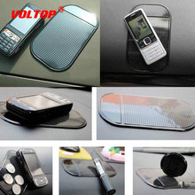 5pcs Anti-Slip Car Mat Accessories for Phone Non-Slip Magic Pad Sticky Pad Mobile Phone Mats Silica Gel