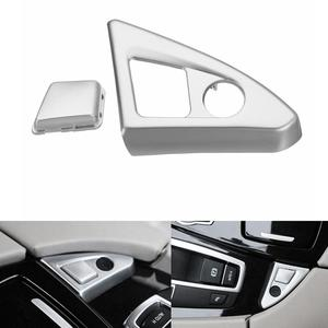 Auto Interieur Center Console Armsteun Knop Cover Trim voor BMW 5 F10 530 520i 2011-2016(China)