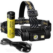 2020 NITECORE HC65 + 18650 Rechargeable Battery Torches 1000 Lumens U2 3xLEDs Flashlight Waterproof Camping Travel Free Shipping