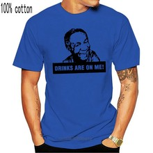 Bill Cosby boissons sont sur moi comédien debout drôle T-Shirt blanc S-3Xl sweat T-Shirt