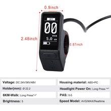 Экран дисплея электрического велосипеда SW102 lcd мини Водонепроницаемый регулятор скорости для Bafang Bbs01 Bbs02 Bbshd Mid мотор