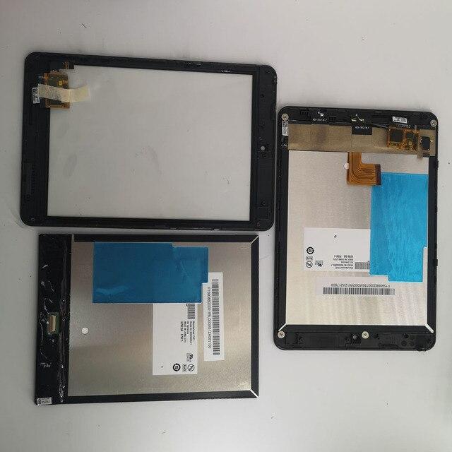 جديد 7.9 بوصة لينوفو Miix3 830 miix 3 830 LCD عرض مع شاشة تعمل باللمس لوحة محول الأرقام زجاج مع الإطار