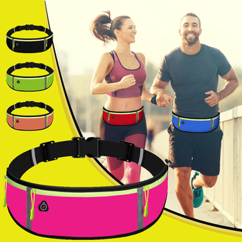 Uni Waist Bag Running Sports Belt Waist Pouch Men Sports Cycling Phone Bag Waterproof Holder Women Running Waist  Bag