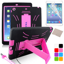 Protector de soporte de Robot Anti-caída para Apple IPad 2 3 4 IPad Air 2 ajustable portátil plegable Tablet Escritorio soporte perezoso titular(China)