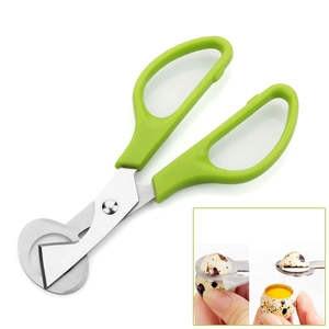 Bird Tool Cracker Quail Egg Pigeon scissor Cutter Blade Clipper Kitchen Cigar Opener