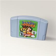 بانجو توى بانجو توى لخرطوشة لعبة 64 بت تصميم الولايات المتحدة الأمريكية NTSC