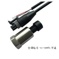 Pt1100 Klimaanlage Kälte Druck Sender Sensor-1-16bar-7/16-20unf 4-20mA Niedrigen Druck