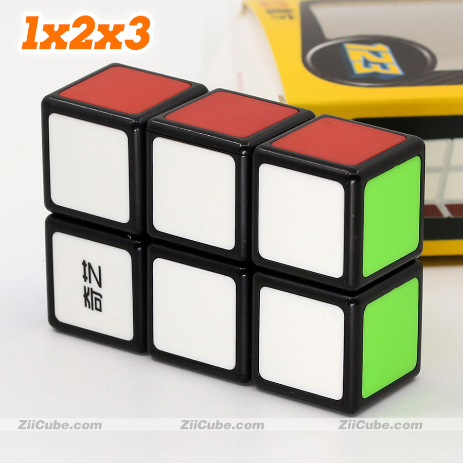 Magic Cube Puzzle QiYi 123 1x2x3 Professinal Twist Wisdom Toys Game Cube