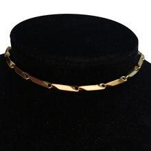 Цепочка на шею для ключиц ожерелья женщин подарок минималистичный