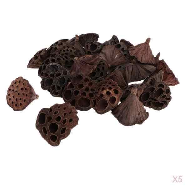 150 peças de lótus seco natural pod, pressionado flores para diy decoração floral artesanato decoração de festa em casa loja café ornamento-3-12cm